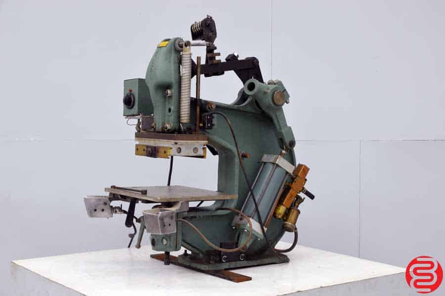 Kensol K 36 T 3 Ton Air-Operated Roll Leaf Stamping Press