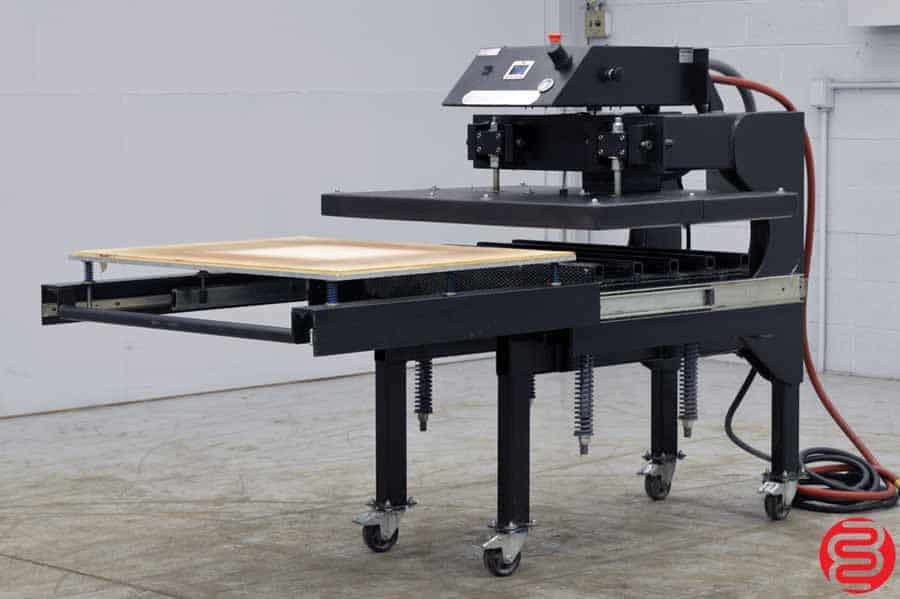 Knight Maxi Press Automatic Air-Operated Large Format 42 x 32 Heat Press