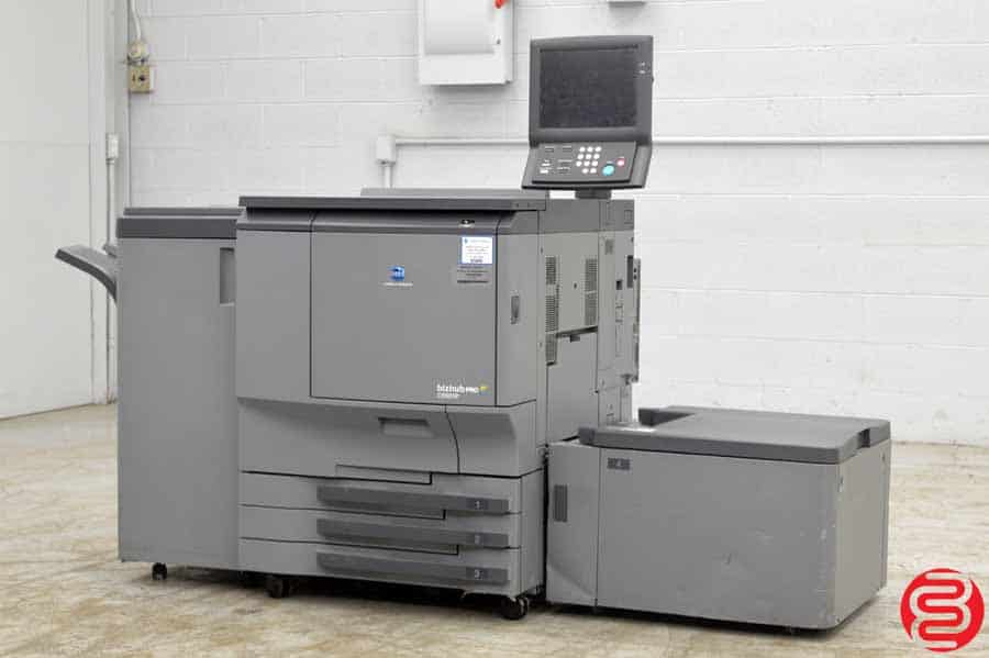 2009 Konica Minolta Bizhub Pro C6501P Digital Press w/ Finishing Unit and Large Capacity Unit