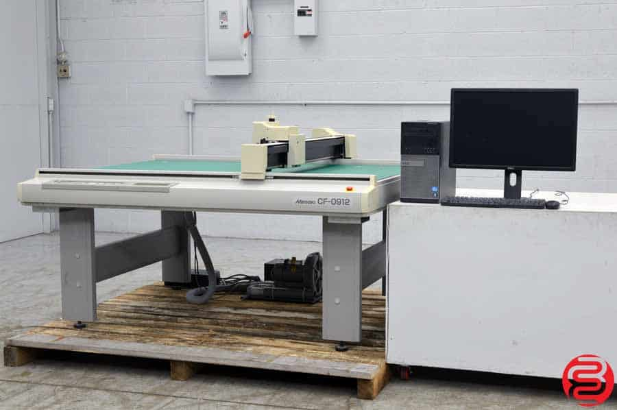 Mimaki CF-0912 Wide Format Flat Bed Cutting Plotter