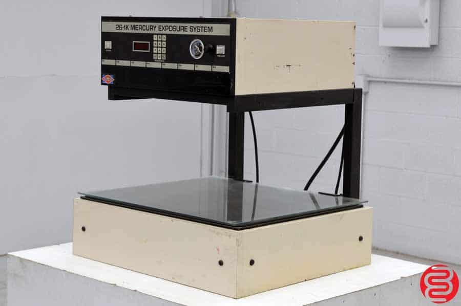 NuArc 26-1K Metal Halide Exposure System Platemaker
