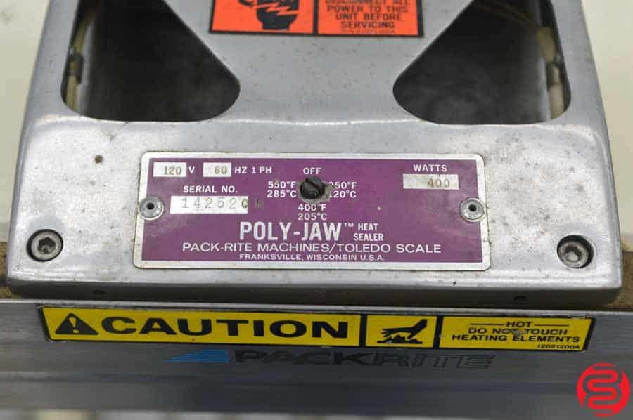 PackRite Poly-Jaw Foot Operated Sealer