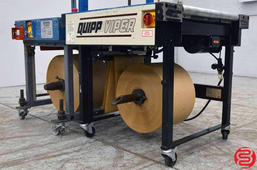 2007 Quipp Viper Bottom-Wrap Kraft Paper Wrapper w/ Power Strap Under-Wrapper
