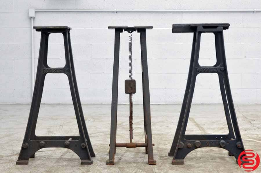 Rossley Heavy Duty Cast Iron Table Legs - Qty 3