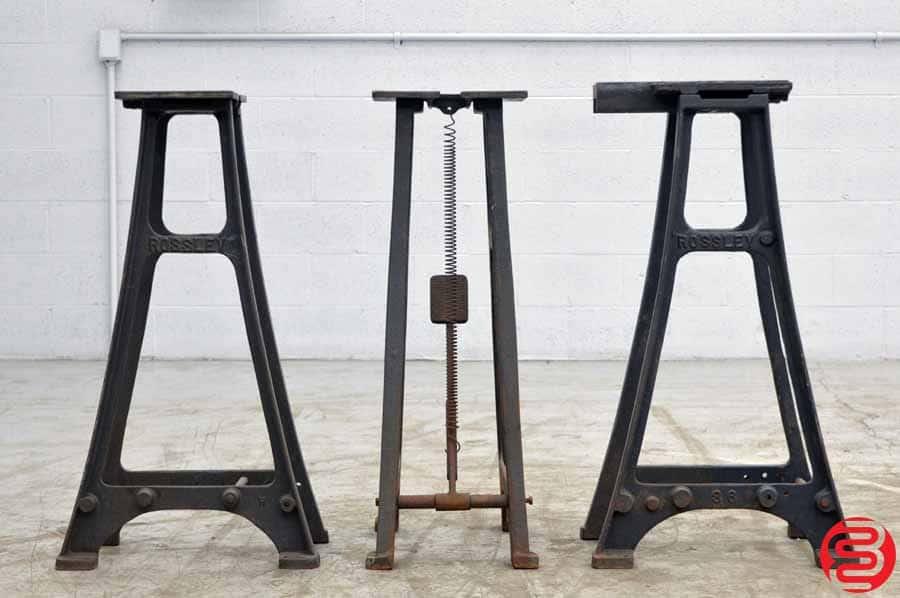 Rossley Heavy Duty Cast Iron Table Legs - Qty 3