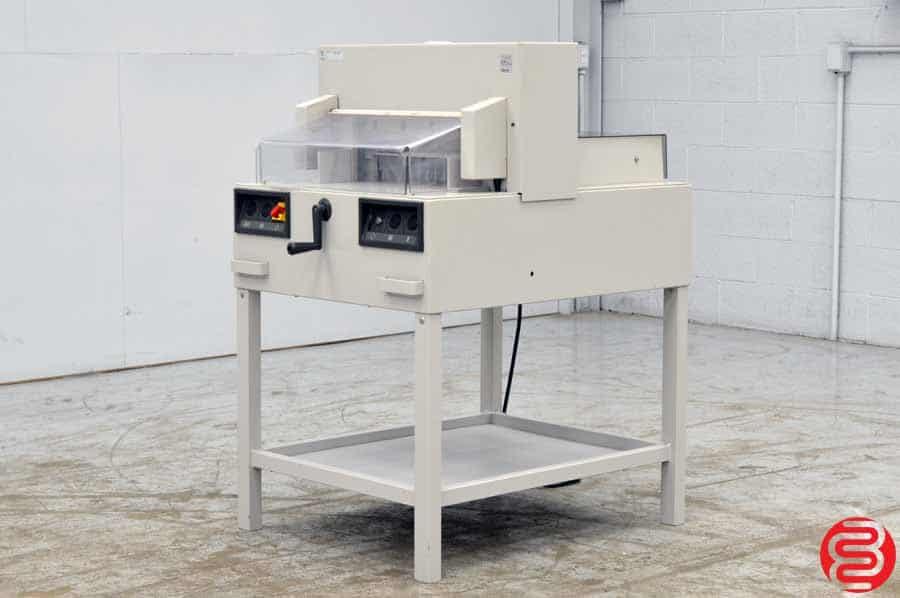 "Triumph Ideal 4850-95 EP 18.5"" Programmable Paper Cutter"