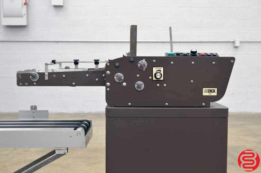 AB Dick 1200 Envelope Feeder w/ Sandco Conveyor