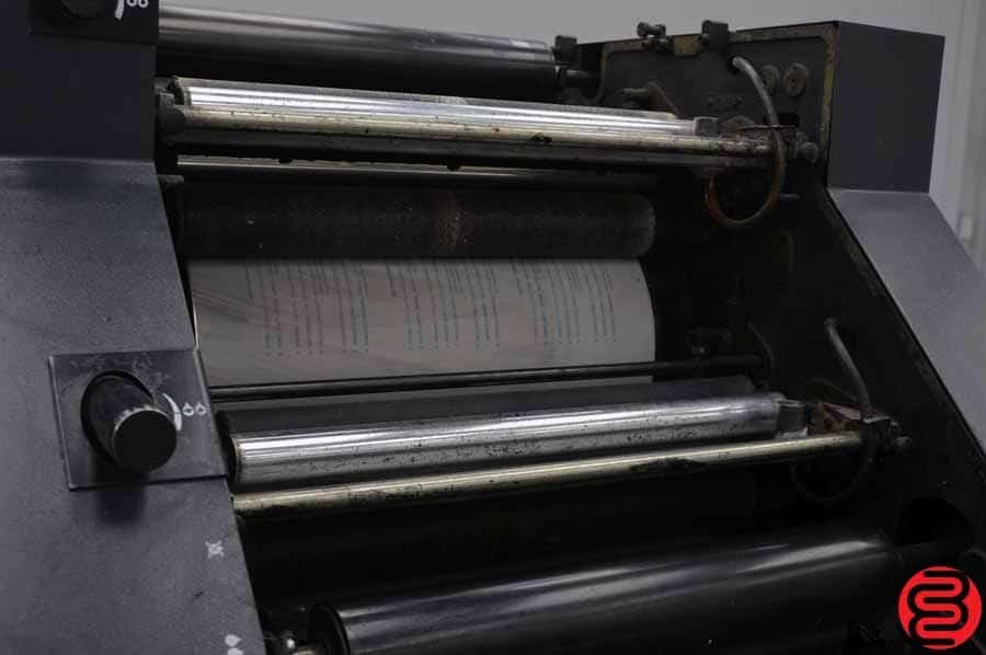 AB Dick 9810 Single Color Offset Press