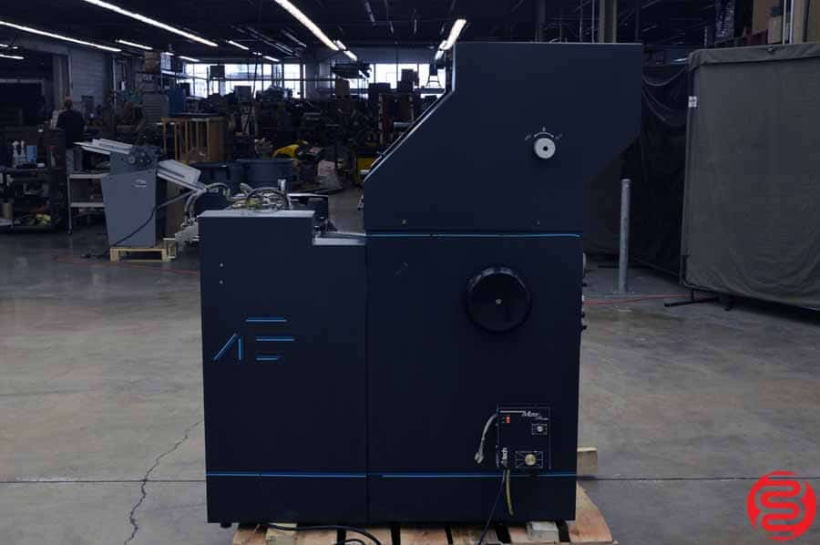 AB Dick 9810 Single Color Offset Press