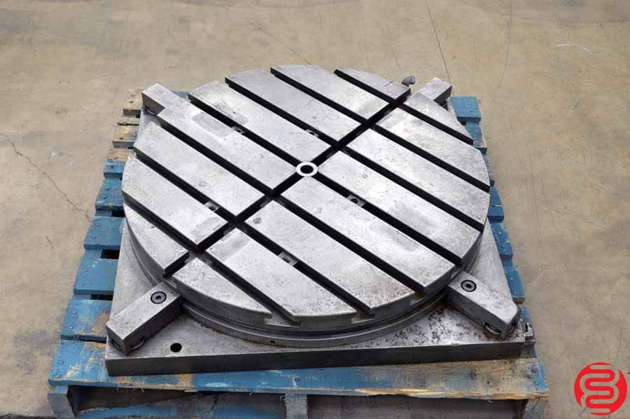 "Air Lift Indexable 30"" Rotary Table"
