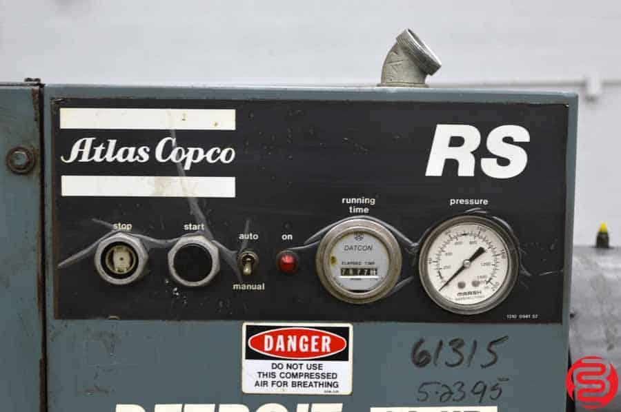 Atlas Copco RS 30 110 30 HP Air Compressor
