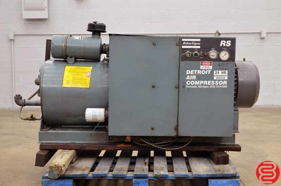 Atlas Copco RS 30 110 30 HP Air Compressor