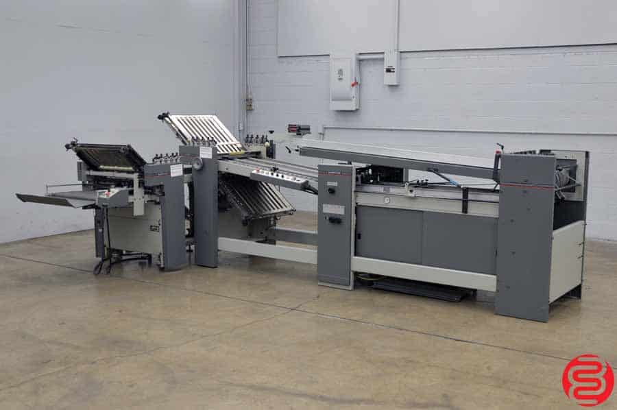Baumfolder Legend Continuous Feed Paper Folder w/ 8 Page Unit