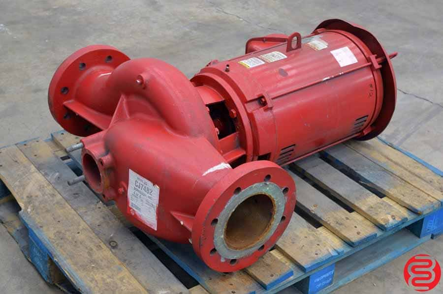 Bell and Gossett Series 80 Model 6X11 Pump w/ 60 HP Motor