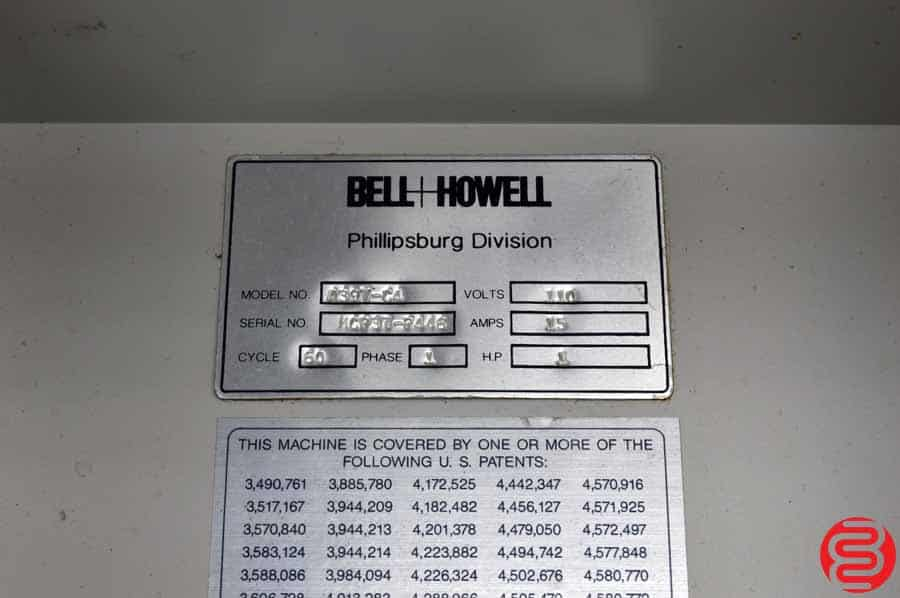 Bell and Howell Phillipsburg A397 Four Pocket Inserter