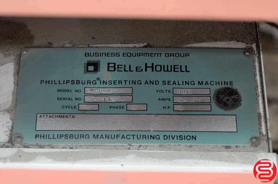 Bell and Howell Phillipsburg Expediter 5000 4 Pocket Inserter