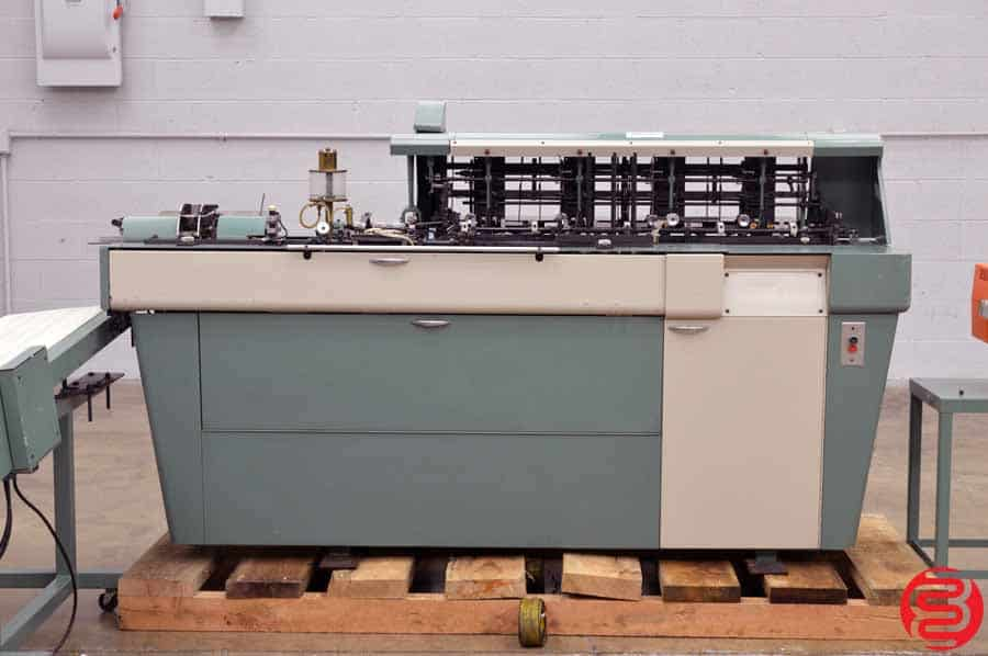 Bell and Howell Phillipsburg Mark II Four Pocket Inserter w/ Delivery Conveyor and Hasler Mailmaster