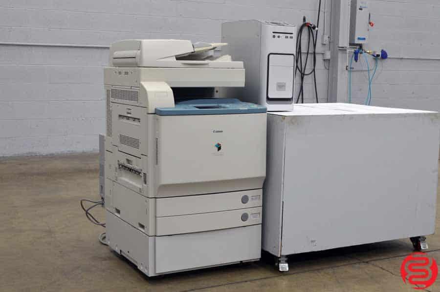 Canon Color imageRUNNER C4580 Digital Press w/ Fiery Print Server