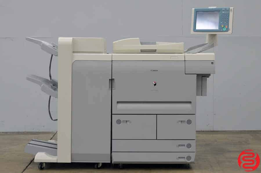 2008 Canon imageRUNNER 7095 Monochrome Digital Press w/ V2 Saddle Finisher