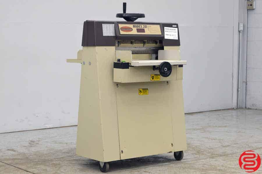 "Challenge Model 20 20"" Hydraulic Paper Cutter w/ Digital Readout"