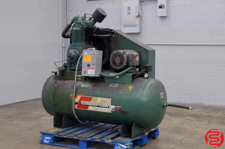 Champion HRA15 15 HP Horizontal Tank Air Compressor