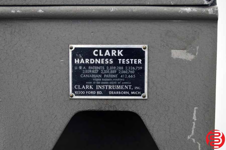 Clark C 12 A Hardness Tester w/ Stand