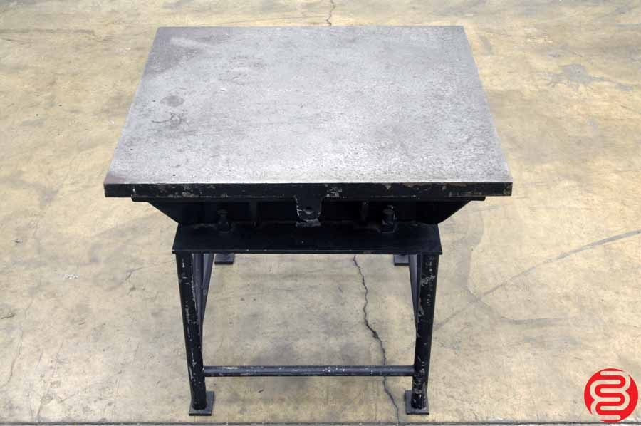 Four Ledge Inspection Surface Plate w/ Stand