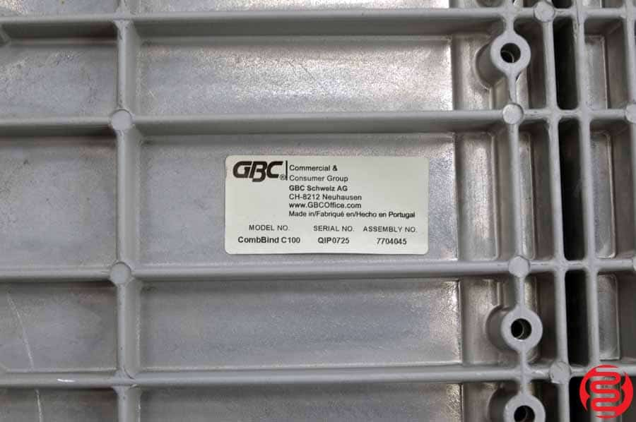 GBC CombBind C100 Comb Binding System