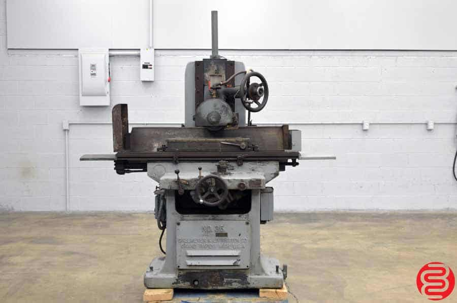 Gallmeyer & Livingston Two Axis Hydraulic Power Feed Surface Grinder w/ Magnetic Adjustable Chuck