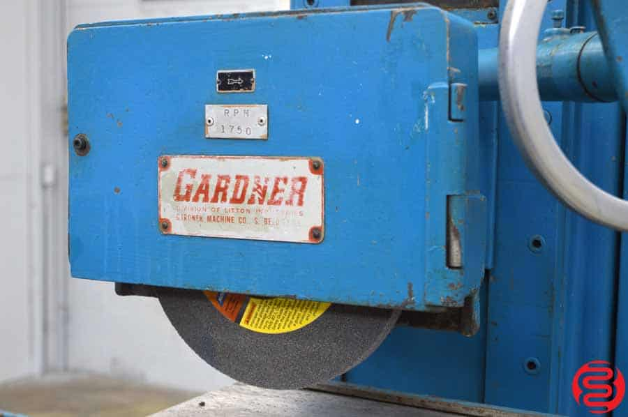 "Gardner Model 1015 10"" x 15"" Hand Feed Surface Grinder w/ Magnetic Electric Adjustable Chuck"