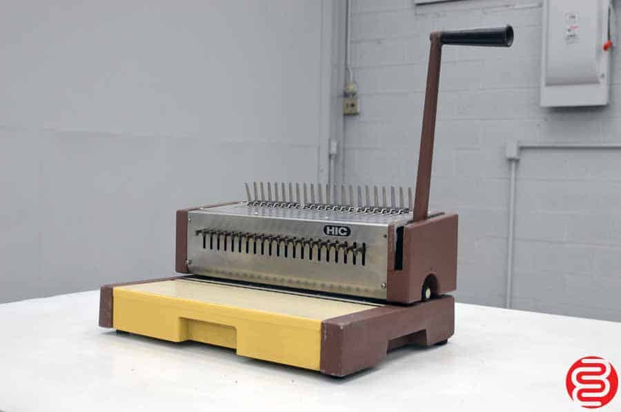 HIC GBC HPB-210 Punch and Bind Machine