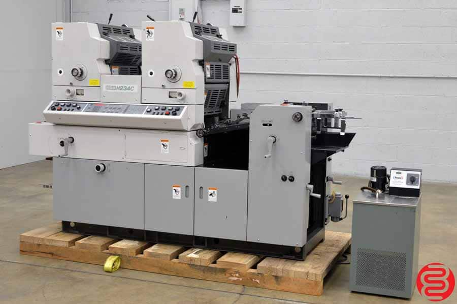 Hamada H234 Two Color Offset Printing Press