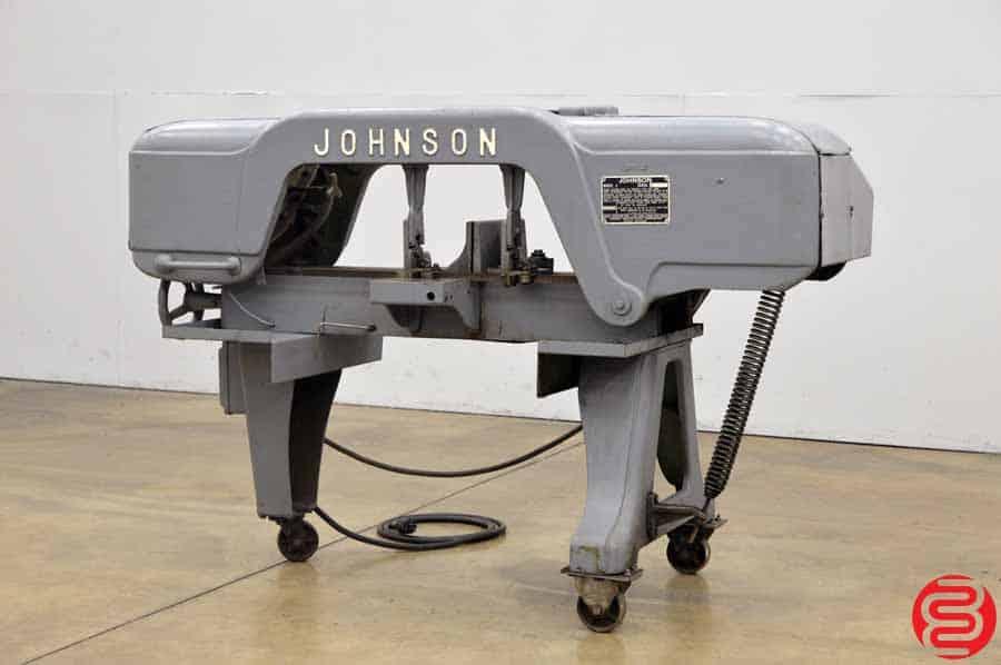 Johnson Model J 10 x 18 Horizontal Band Saw