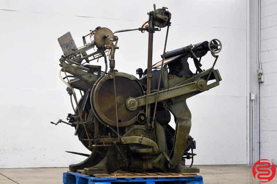 Kluge Automatic Platen Press / Embosser / Die Cutter