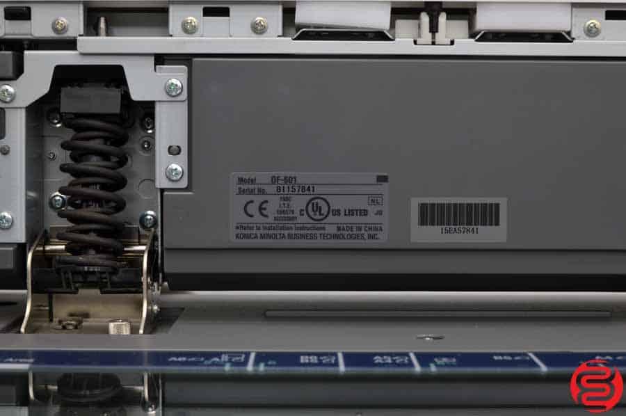 Konica Minolta Bizhub C350 Digital Press w/ Automatic Duplex Attachment and Universal Cassette