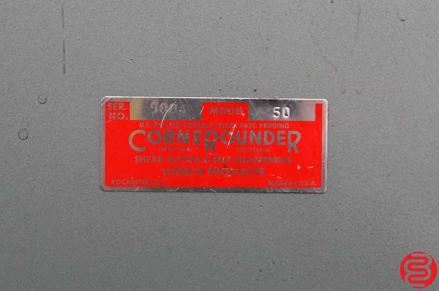 Lassco CR 50 Corner Rounder