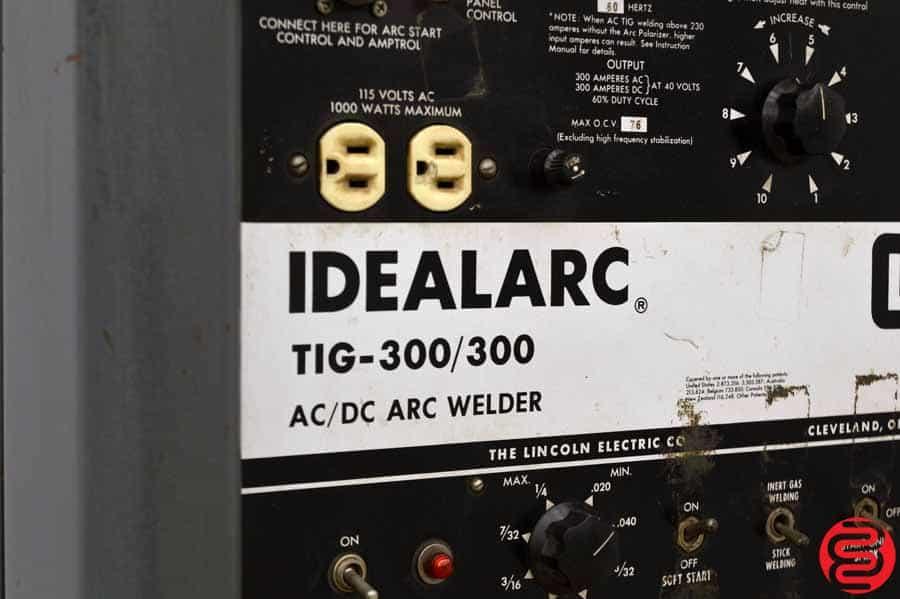 Lincoln Idealarc 300 Tig / Arc Welder