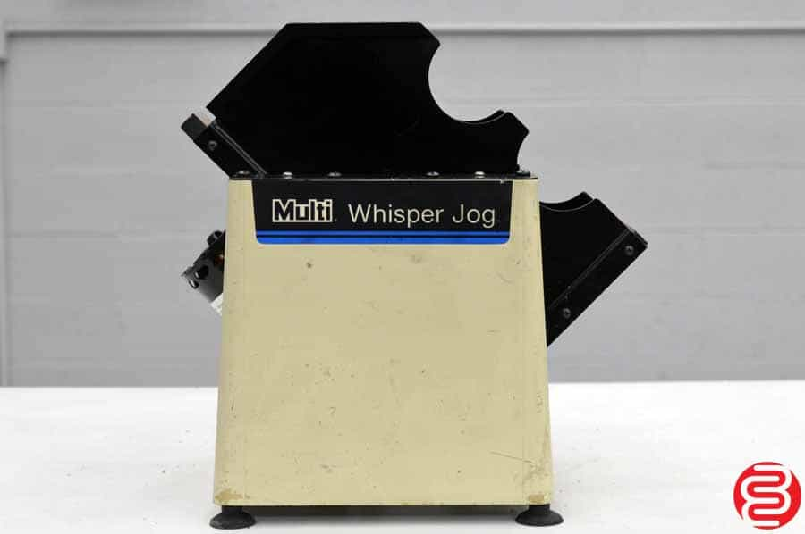 Multigraphics Whisper Jog 400-AM Paper Jogger
