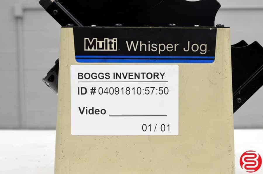 Multigraphics Whisper Jog 400-AM Paper Jogger