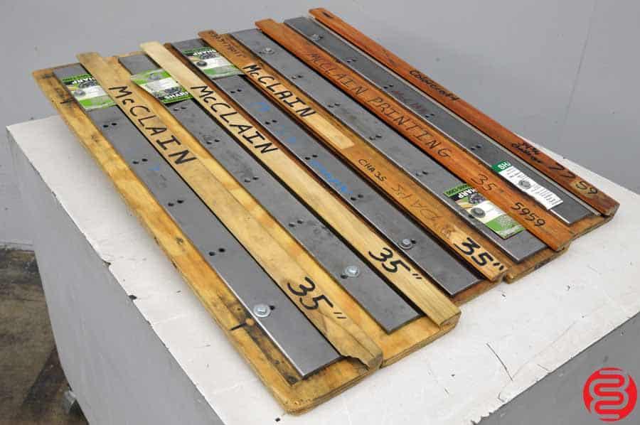 """35"""" Paper Cutter Blade - Qty 5"""