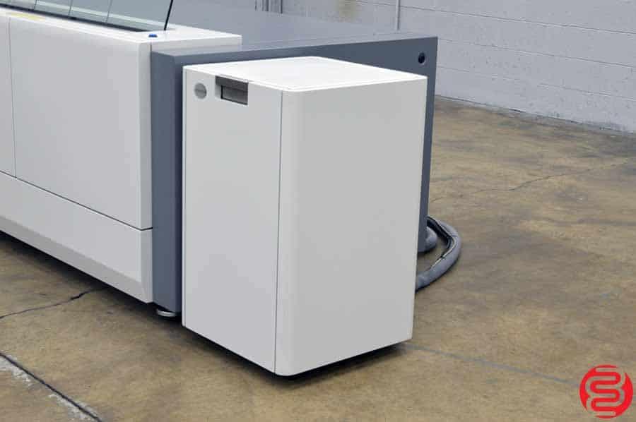 2010 Presstek Dimension Pro 400 Computer to Plate System w/ Kodak Debris Removal Cabinet