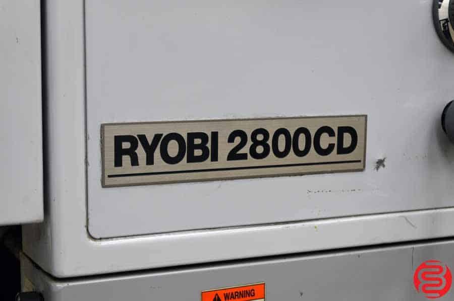 Ryobi 2800CD Single Color Offset Press