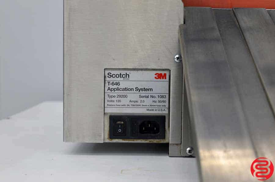 Scotch 3M T-646 Dual Head Tape Application System
