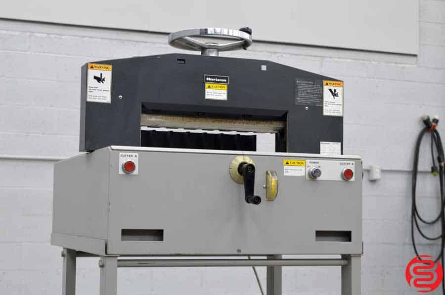 """Standard Horizon PC-45 Heavy-Duty Electric Stack 17.7"""" Paper Cutter"""
