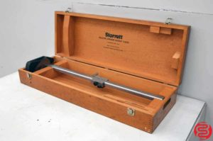 "Starrett 254EMZ Master Vernier 24"" Height Gage With Case"