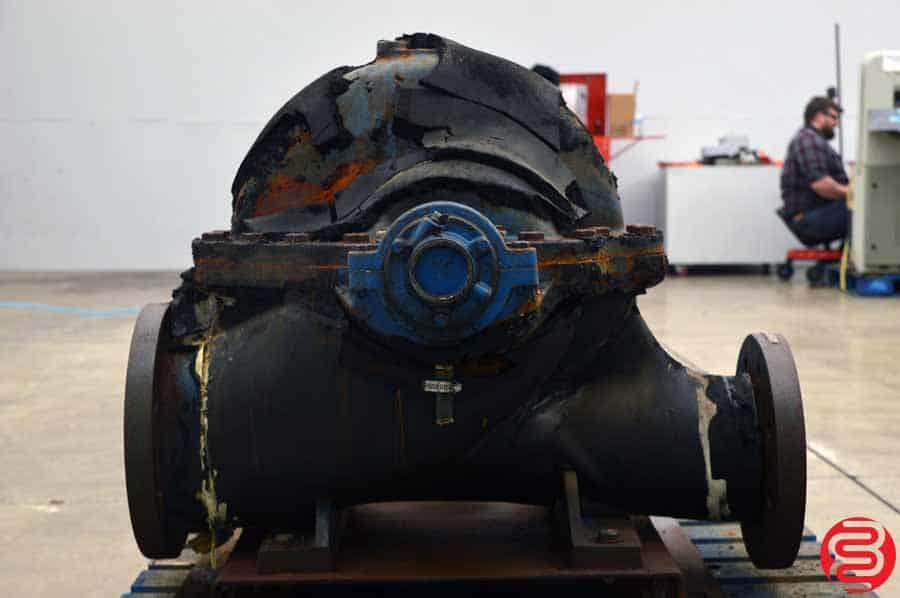 Sterling Peerless Split Case Pump 6AE16V w/ US Motors 20 HP Motor