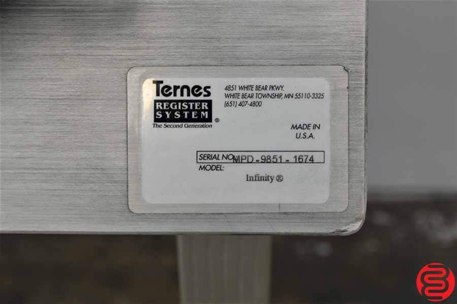 Ternes Register System Infinity Plate Punch