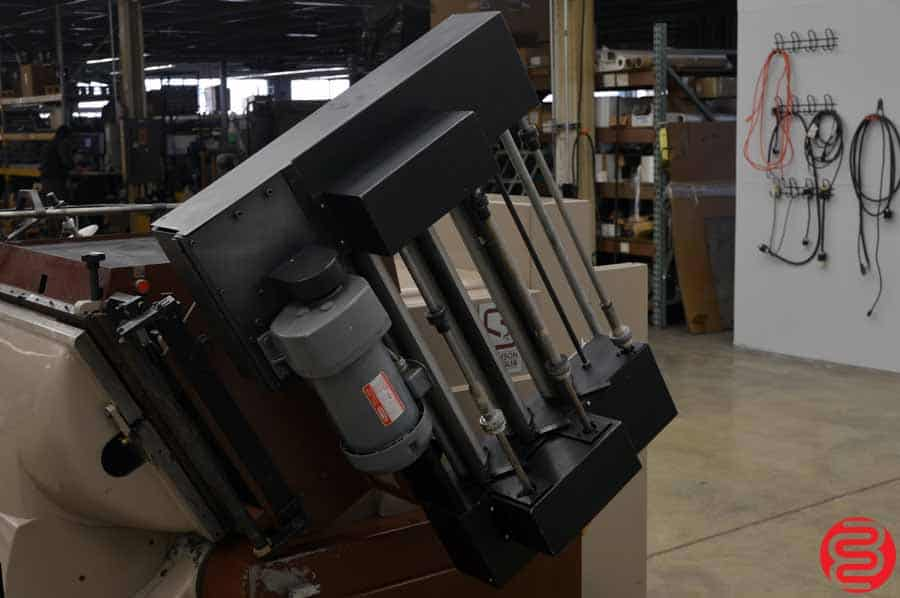 Thomson Saroglia FUB Die Cutter / Embosser / Foil Stamper w/ Index Repeat Controller
