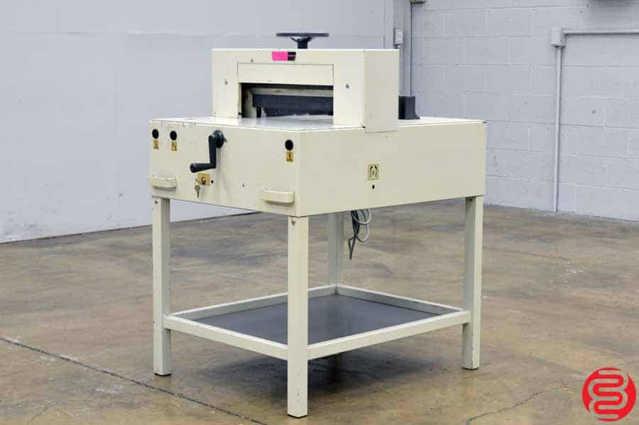 "Triumph Ideal 4810 19"" Paper Cutter"