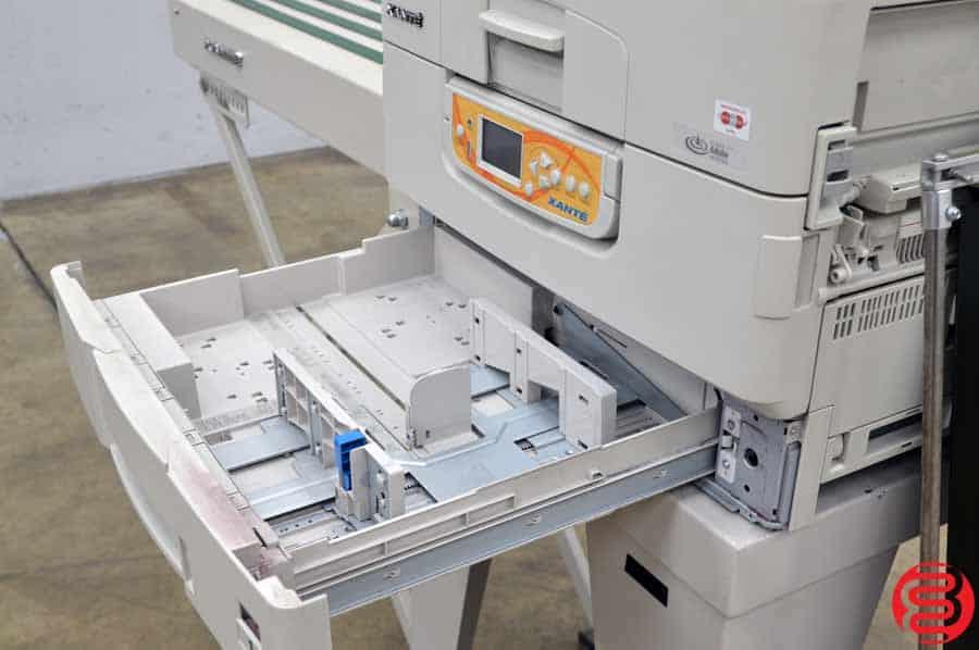 2013 Xante Ilumina Digital Envelope Press w/ Feeder and Conveyor